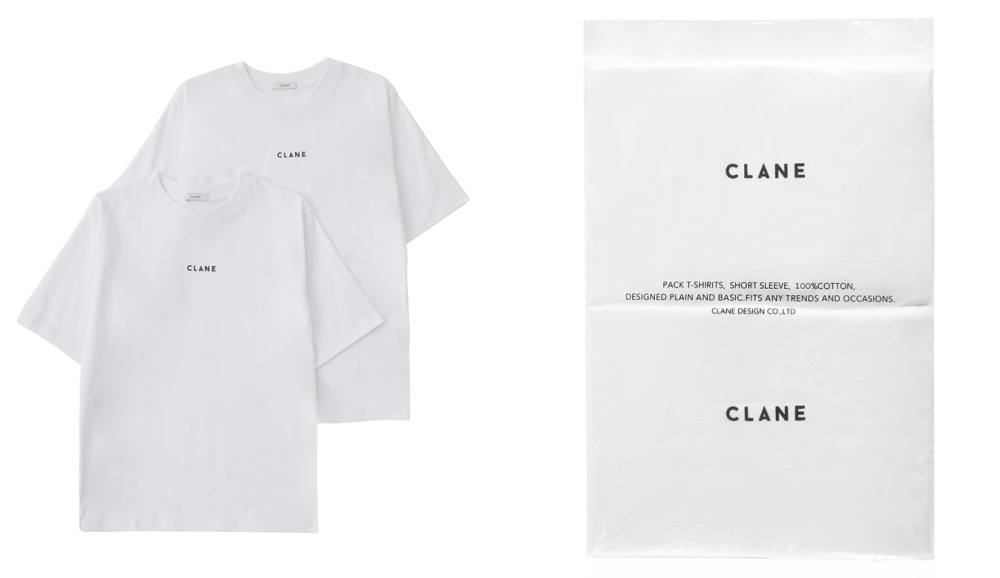 CLANE - WHITE PACK T/S