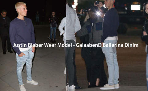 Justin Bieber Wear Model - GalaabenD Ballerina Dinim
