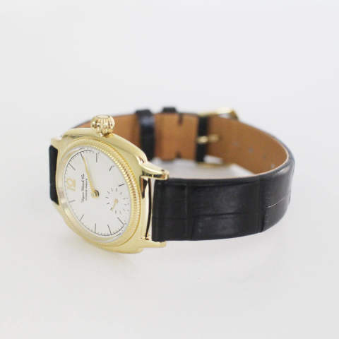 VAGUE WATCH CO. - COSSIN12 GOLD - Crocodile belt