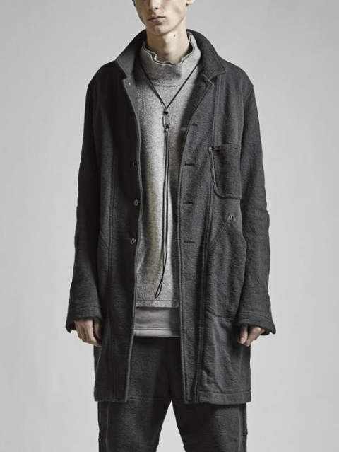 The Viridi-anne 17-18AW -  INLAY COAT