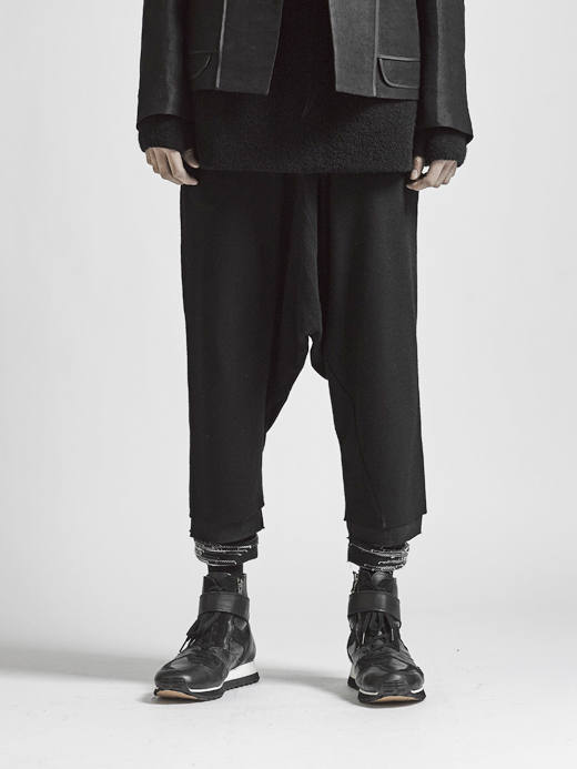 The Viridi-anne 17-18AW - Wool Sarouel Pants