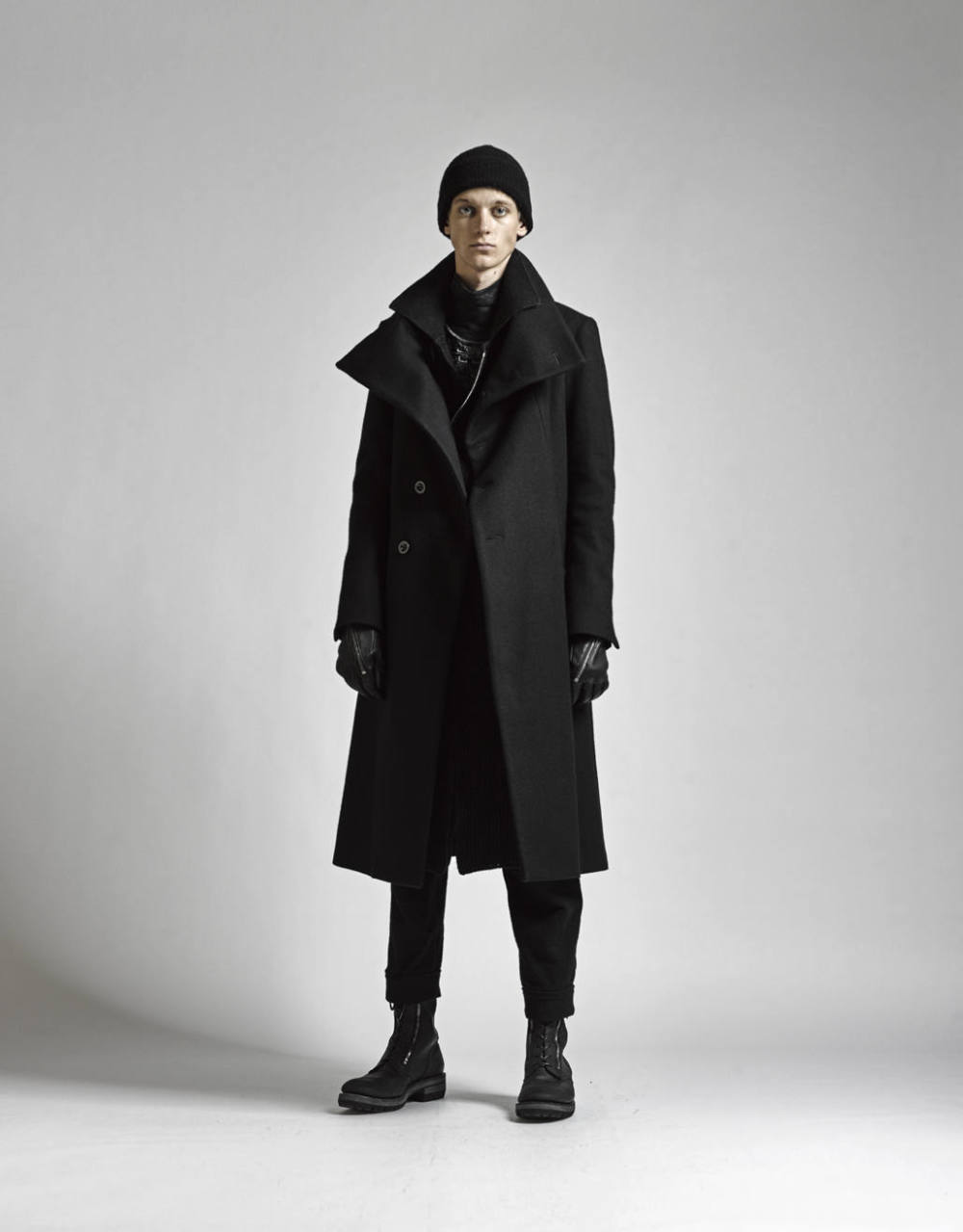 The Viridi-anne 17-18AW - High Neck Long Coat