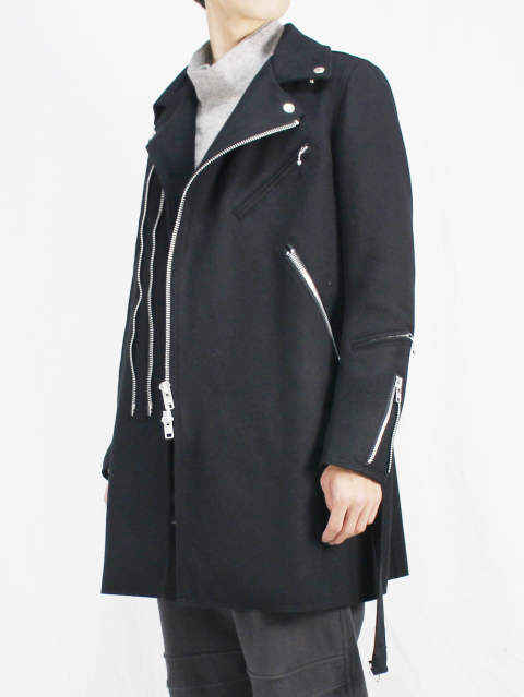 The Viridi-anne 17-18AW - Melton Rider's Coat