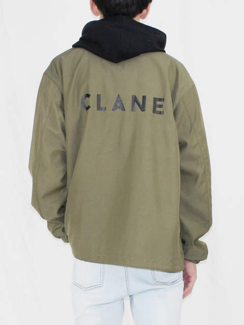 CLANE HOMME 17-18AW - 「CLANE COACH JACKET STYLE」
