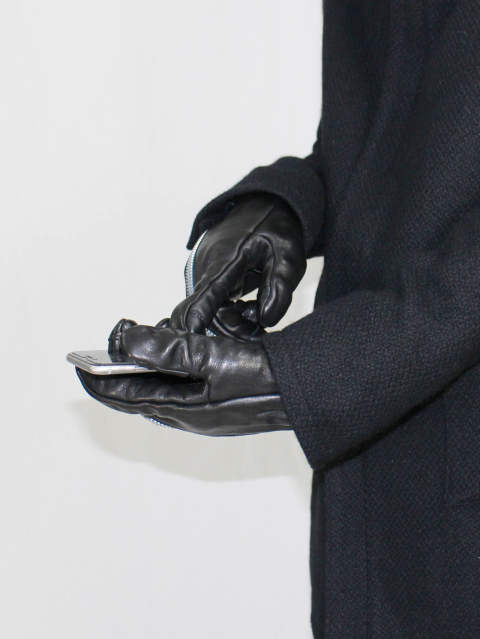 SADDAM TEISSY 17-18AW - ST109-0016A 「Horse Leather Zip Gloves」