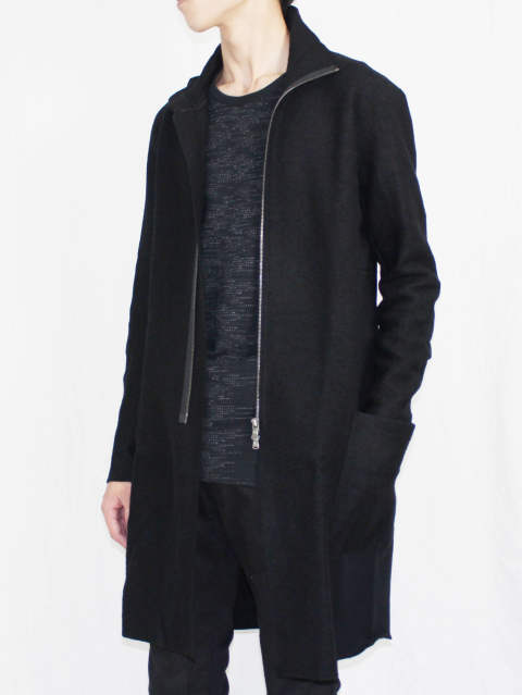 The Viridi-anne 17-18AW -  VI-2783-01 『ZIP LONG CARDIGAN』