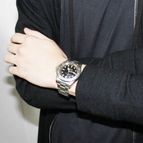 "VAGUE WATCH CO. - GRY FAD ""Wear Image"""