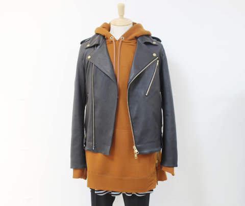 "GalaabenD 17-18AW -  RECOMMEND STYLE ""Leather Jacket"""