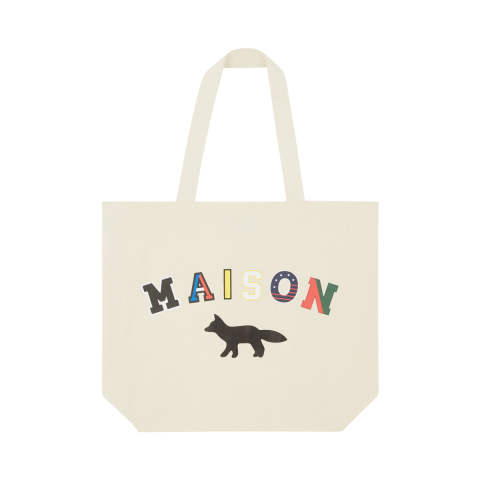トートバッグ  - TOTE BAG MAISON FOX