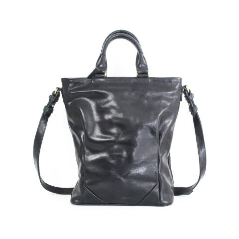 ピックトートバッグ -  pick tote S steer oil shrink