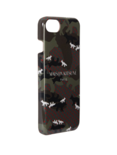 アイフォン8/7ケース - IPHONE CASE ALL-OVER CAMO FOX