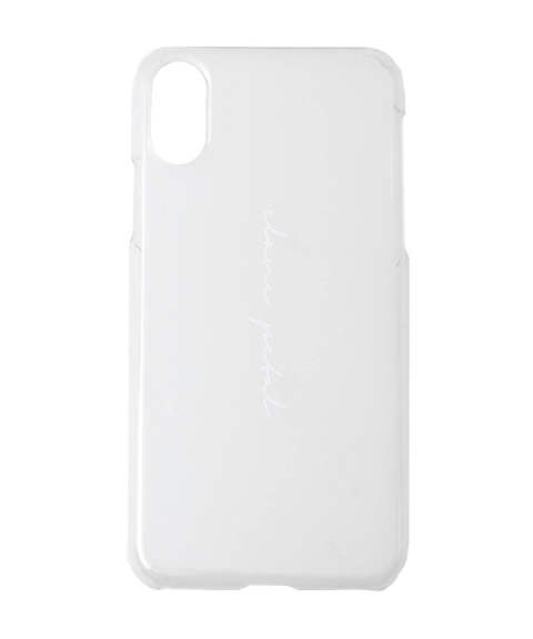 アイフォンX/XSケース - CLANE PETAL i phone case for X, XS WHITE