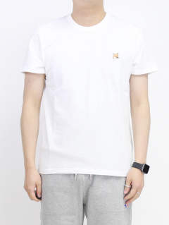 Tシャツ - FOX HEAD PATCH WHITE