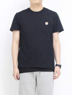 Tシャツ - FOX HEAD PATCH BLACK