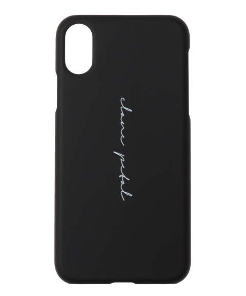アイフォンX/XSケース - CLANE PETAL i phone case for X, XS BLACK