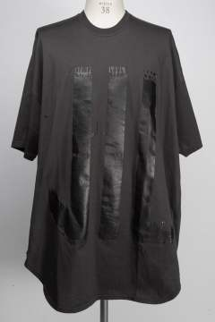 【先行予約】 家紋Tシャツ - KAMON ROUND T-SHIRT - DARK GREY