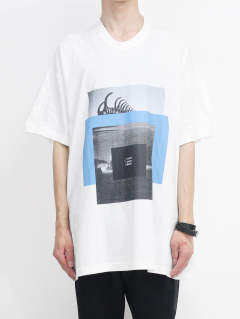 【IKE着用モデル】Tシャツ EXIST ver.1 641CPM5 - WHITE