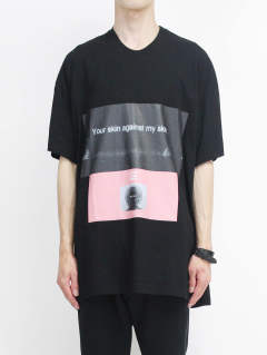 【IKE着用モデル】Tシャツ EXIST ver.2 641CPM6 - BLACK