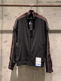 【先行予約】removable track jacket - A04JK651 - BLACK
