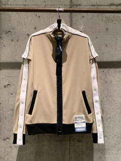 【先行予約】removable track jacket  - A04JK651 - BEIGE