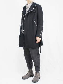 The Viridi-anne 17-18AW - Riders Coat STYLE