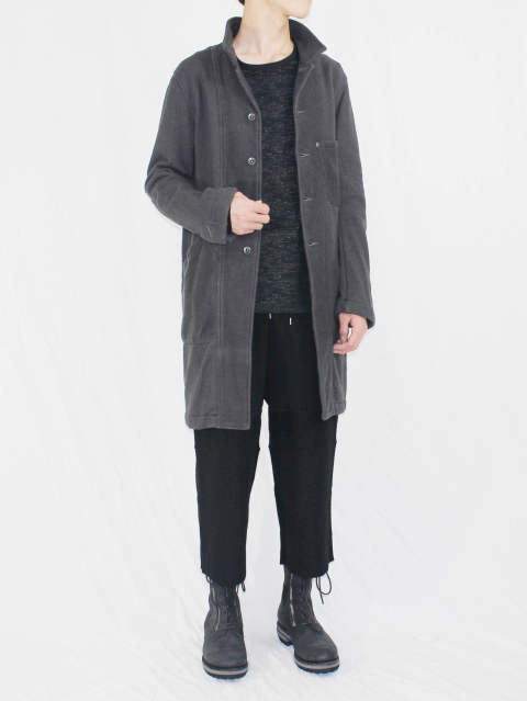 The Viridi-anne 17-18AW - INLAY COAT STYLE - B