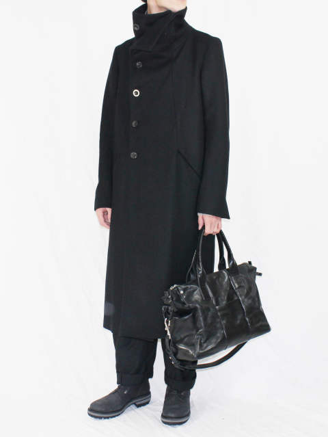 The Viridi-anne 17-18AW - HIGH NECK COAT STYLE