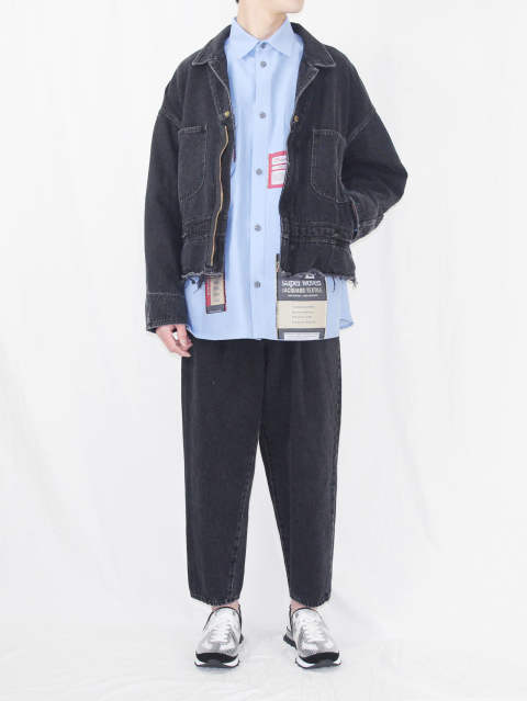DOUBLET SS18SS - DENIM SET UP STYLE