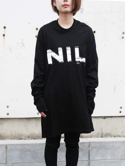 "使い勝手抜群‼ NILoS ""NIL LONG SLLEVE SHIRT"""